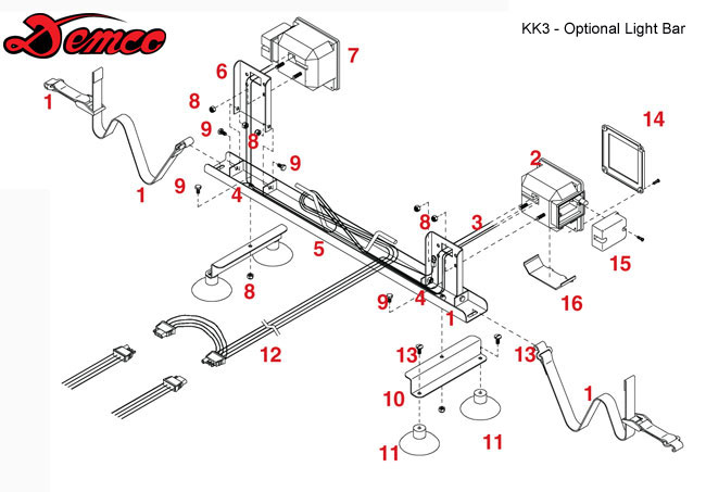 demco wiring harness   20 wiring diagram images