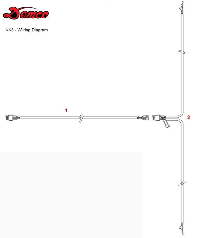 Demco Tow Dolly  Kar Kaddy 3  Wiring Diagram
