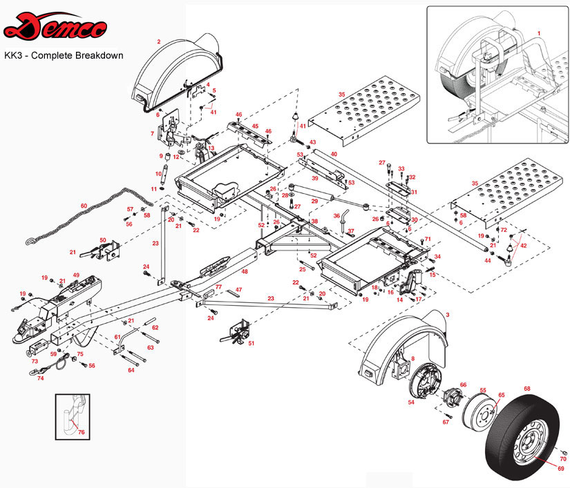 DMCO TD KK3 2000 uhaul dolly wiring diagram diagram wiring diagrams for diy U-Haul Dolly Rental Rates at soozxer.org